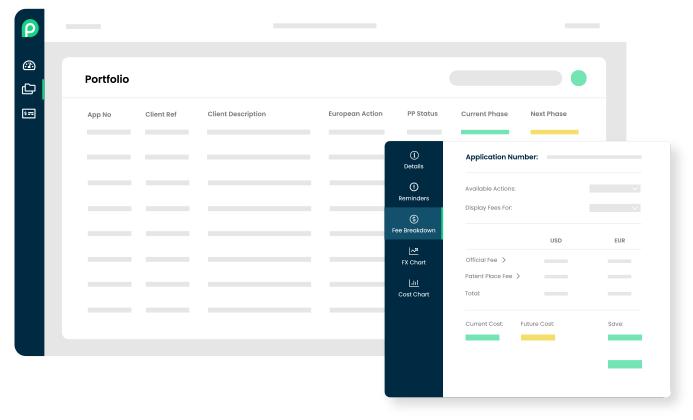 Online patent filing platform